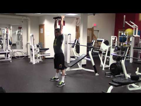 Plate Squat to Press