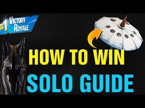 Fortnite How To Win SOLO Season 7 Ultimate Guide! Fortnite Season 7 Solo VICTORY Guide!