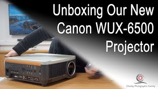 New Club Projector Unboxing