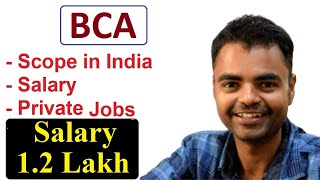 Scope of BCA in India, BCA Course Details in Hindi, College, Future, Jobs, Salary, Eligibility, MCA
