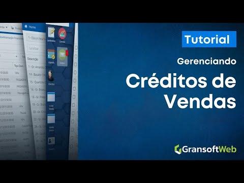 Trabalhando com Crédito de Vendas