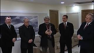 Открытие выставки «Смоленская стена» в Совете Федерации РФ