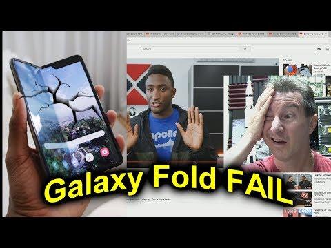 EEVblog #1204 - Samsung Galaxy Fold Failure - Analysis