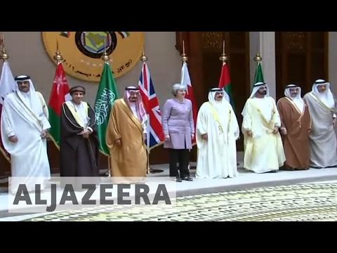 , title : 'British prime minister seeks GCC trade deals'