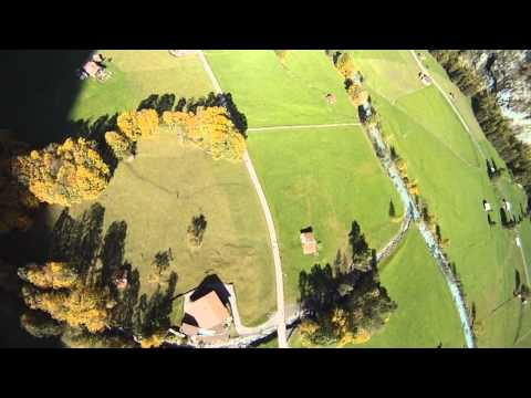 Wingsuit Pilot Pulls Off a Low Pull