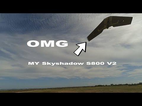 S800 V2 Sky Shadow +40 Wind Speed