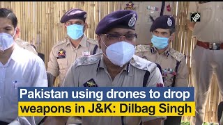 Pakistan using drones to drop weapons in J&K: Dilbag Singh - Download this Video in MP3, M4A, WEBM, MP4, 3GP