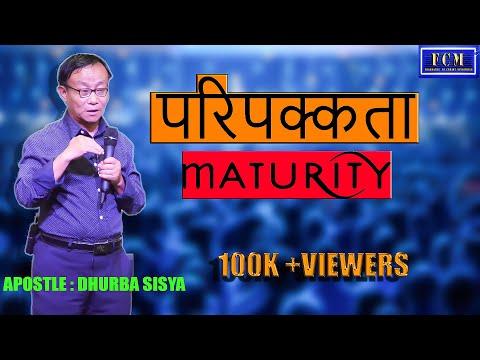 परिपक्कता   DHRUBA SISYA//MATURITY//NEPALI MESSAGE