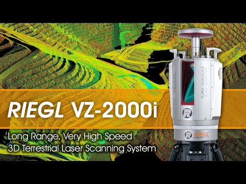 RIEGL Ultimate LIDAR: VZ-2000i Waveform-LIDAR Technology for Mining Applications