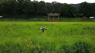 #23 Racing drone acro mode practice 레이싱 드론 아크로 모드 시계비행 연습