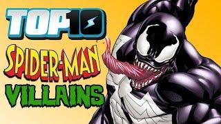 Top 10 Spider-Man Villains w/ DEATH BATTLE's Wiz
