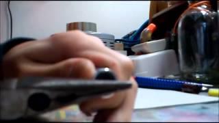 Dangerous実験記-電解コンデンサの分解