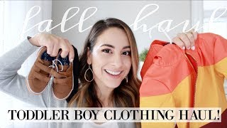 FALL TODDLER BOY CLOTHING HAUL!!! Grace For The Day