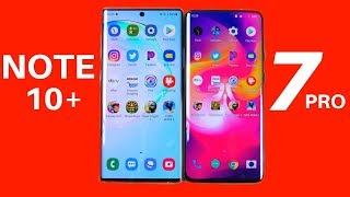 Galaxy Note 10 Plus vs OnePlus 7 Pro Speed Test!