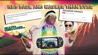 Soulja Boy Is BACK & Wacker Than Ever! With his new PSP console clone