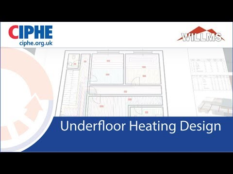 CIPHE Underfloor Heating design