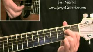 How To Play Joni Mitchell Edith and the Kingpin (intro only)