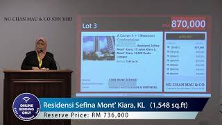 Luxury Property in Mont'Kiara selling at Below Market Price