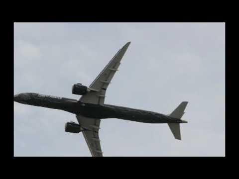 50 años de Embraer. Paris Air Show
