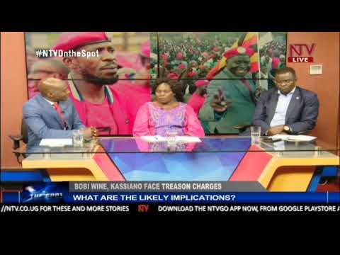 The likely implications of treason charges on Bobi Wine and Kassiano Wadri
