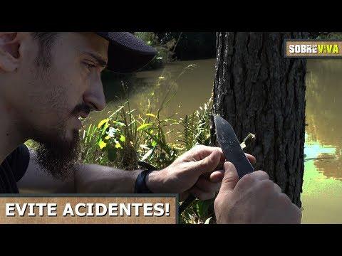 10 regras de segurança ao usar lâminas! - Sobreviva Ep.26