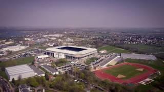 Die MDCC-Arena aus der Luft