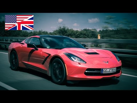 2014 Corvette C7 Stingray Z51 (EU) - Start Up, Exhaust, Test Drive and In-Depth Car Review (English)