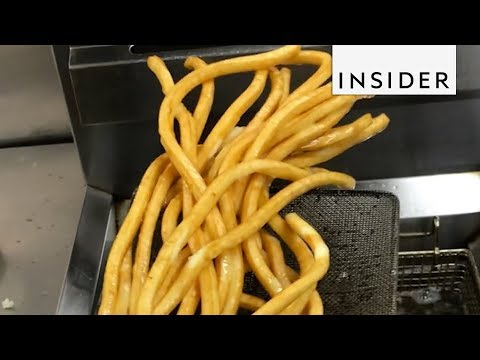 You'll Need More Sauce for These Long French Fries