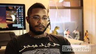 Artist Khary Randolph Shares His Experiences Going to Art School