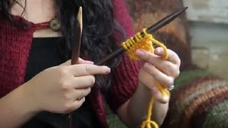 How To Knit Kids Scarves : Knitting Tips