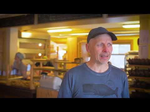 Boulangerie artisanale, Les baguettes en l'air situe à Rimouski