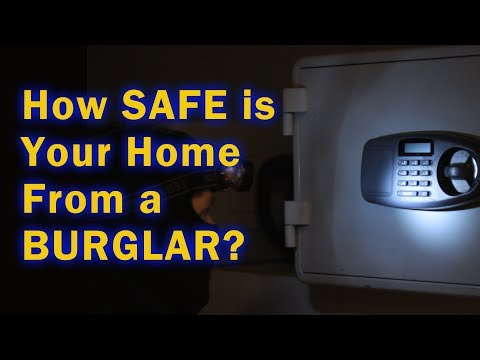 Is Your Home Safe From A Burglar?