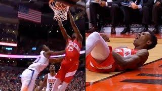 Josh Jackson Gets Flagrant 1 Foul & Ejected from Game after Shoving Chris Boucher | Raptors vs Suns