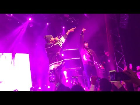 Joyner Lucas and Chris Brown - I Don't Die/Freaky Friday (Live)