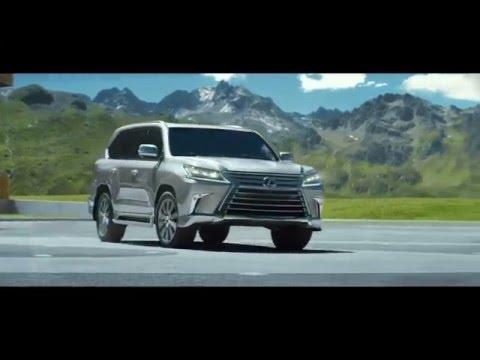 Lexus  Lx Внедорожник класса J - рекламное видео 1
