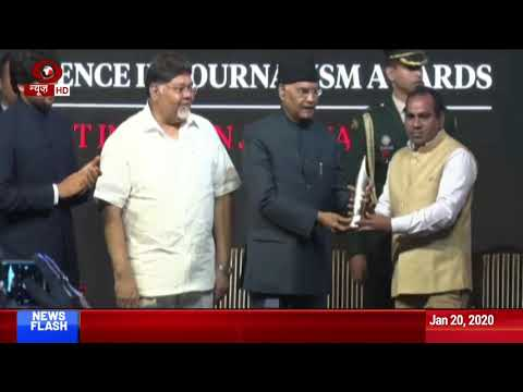 DD News' late cameraman, reporter, light man  get Ramnath Goenka Awards
