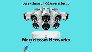 Costco Lorex 4K Smart cameras Unboxing