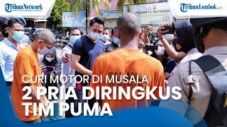 Curi Motor di Musala, 2 Pemuda Diringkus Tim Puma Polresta Mataram