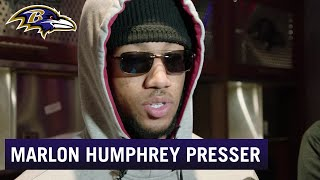 Marlon Humphrey: Not the Result We Wanted   Baltimore Ravens