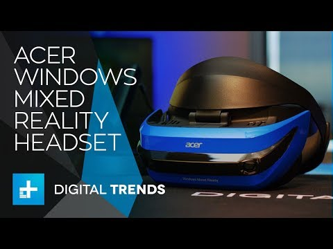 Acer Windows Mixed Reality Headset - Hands On Review