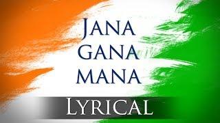 Jana Gana Mana (HD) - National Anthem With Lyrics - Best Patriotic Song