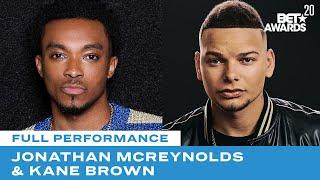 "Jonathan McReynolds & Kane Brown Perform ""People"" & ""Worldwide Beautiful"" | BET Awards 20"