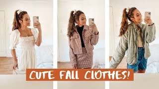 MASSIVE FALL CLOTHING HAUL