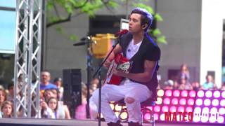 """Austin Mahone  - """"Shadow"""" Live on The Today Show"""