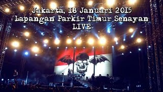 Avenged Sevenfold  Welcome To The Family Live In INDONESIA