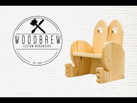 Froschkönig-Thron - Einfacher Stuhl fürs Kinderzimmer