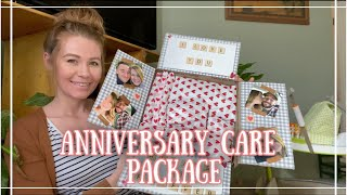 How To Make A MILITARY Care Package | Anniversary Care Package