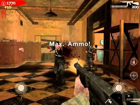 call of duty world at war zombies ios gameplay