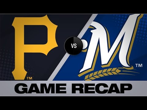 Thames belts go-ahead home run in the 8th | Pirates-Brewers Game Highlights 6/30/19