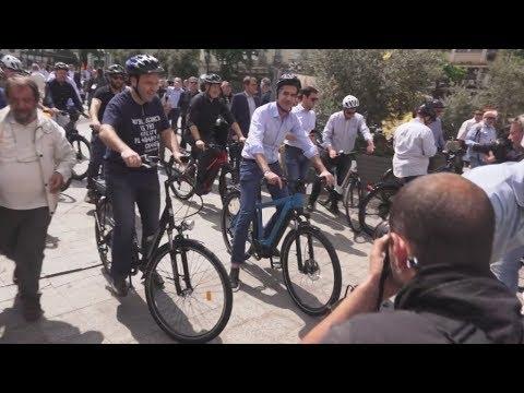Εκδήλωση γιά τη χρήση του ποδηλάτου